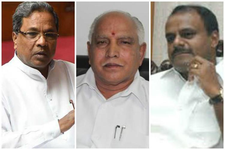 BJP efforts for change in government  in Karnataka lacks numeric strength