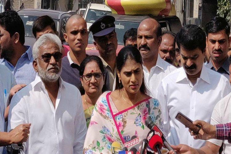 YSR daughter Sharmila allege  TDP's  role behind smear campaign
