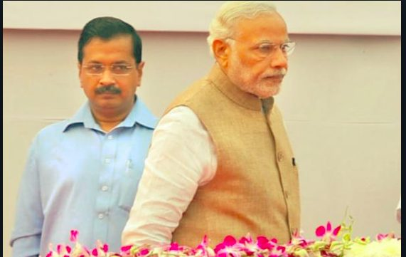 Modji has stalled development work  in Delhi, is that not sedition asks Arvind Kejriwal