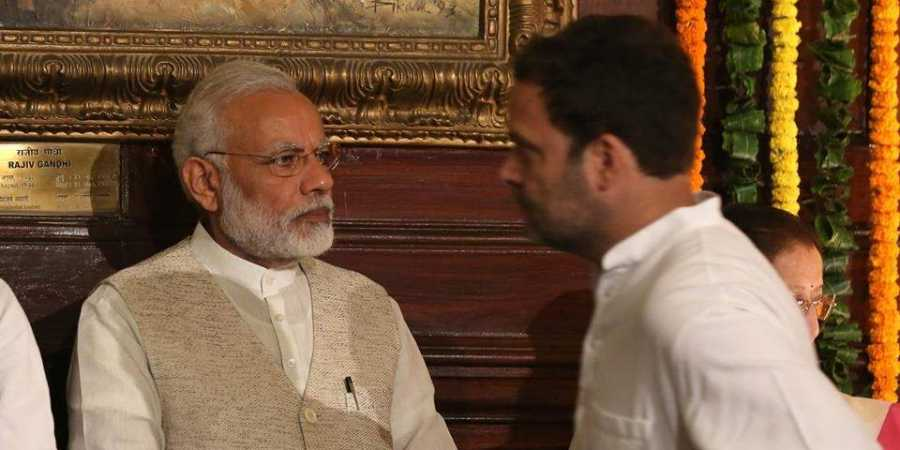 The defence minister hides behind AIADMK members, the PM hides in his room  says RG