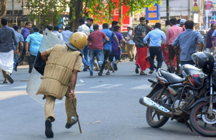 Hartal called by Hindutva elements and BJP failed to evince Kerala People support