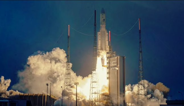 Indian Communication  Satellite, GSAT-31  launched from the Spaceport in French Guiana