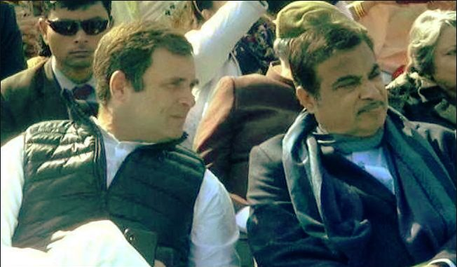 Sonia acknowledges Gadkari work in Parliament