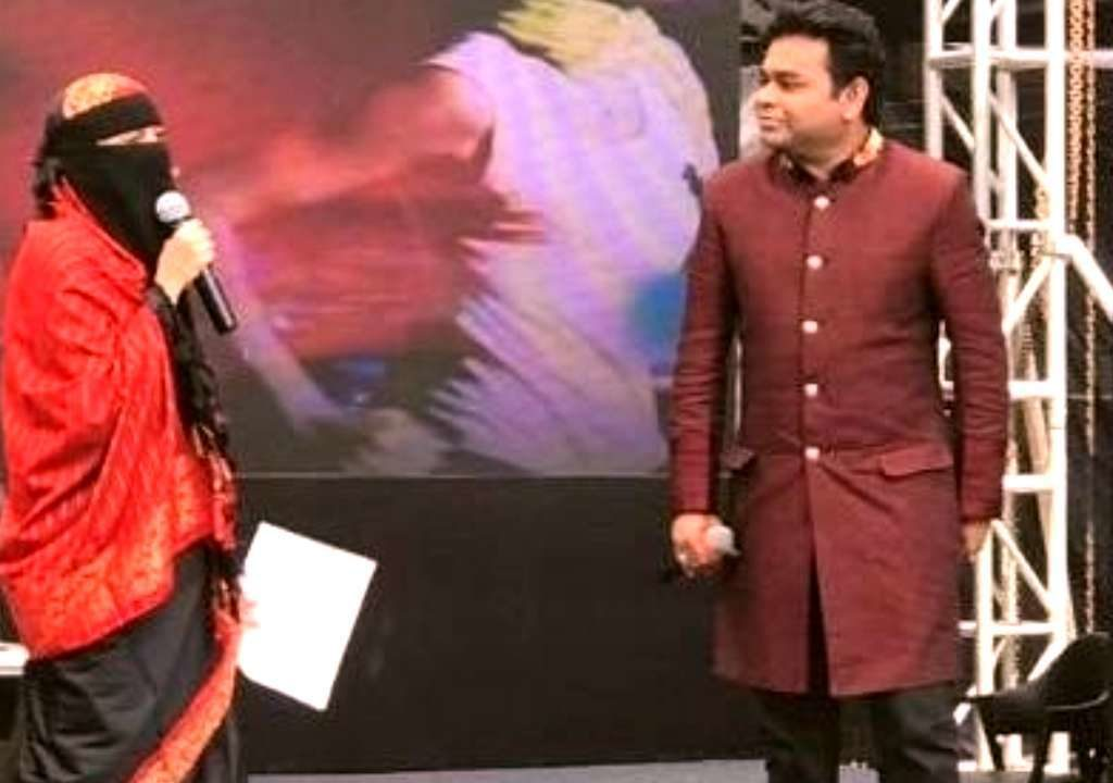 AR Rahman responded to his critics in a poetic way