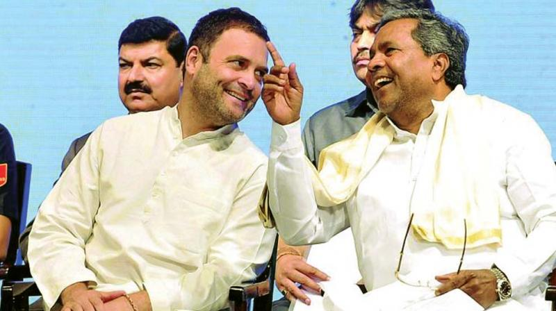 Horse trading BJP attempt foiled as  2 disgruntled  Cong MLAs meet Siddaramaiah
