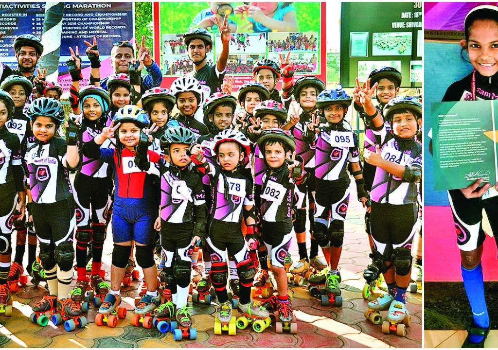 48 hours straight skating : 545 Indian students make Guinness world record