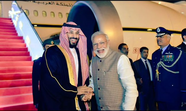 After generous offers to Pakistan Saudi Arabia's Crown Prince lands in  India