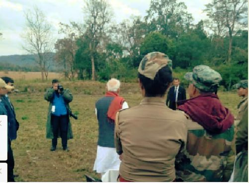 Even after 3 hrs of Pulwama incident PM Modi continued shooting for documentary