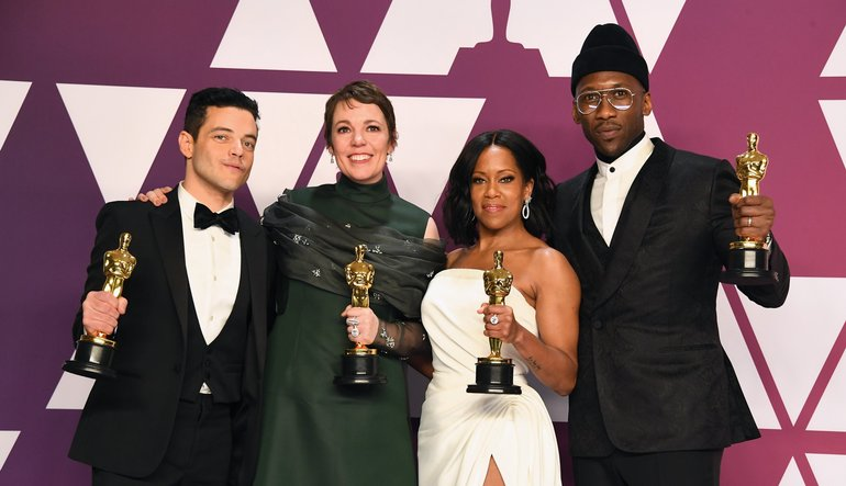 2019 Oscars' evening was with  full of colours