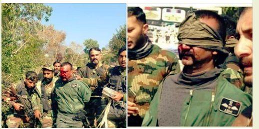 Indian  2 IAF aircraft shot, 2 pilots arrested  : Pakistan