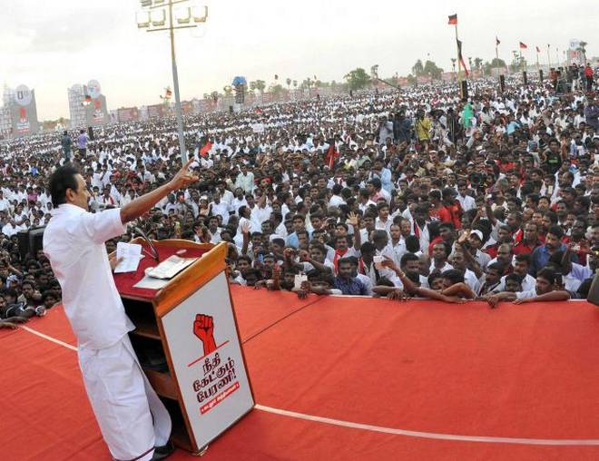 DMK firms up with alliance partners in Tamilnadu