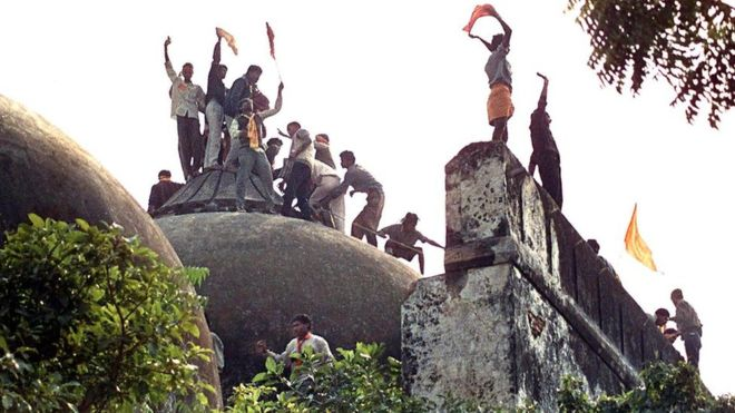 Ram Janmabhoomi-Babri Masjid land dispute  : SC bats for negotiators