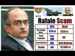 PC Sarcastic on  AG's Volte-face of Rafale Scam documents inside Supreme Court