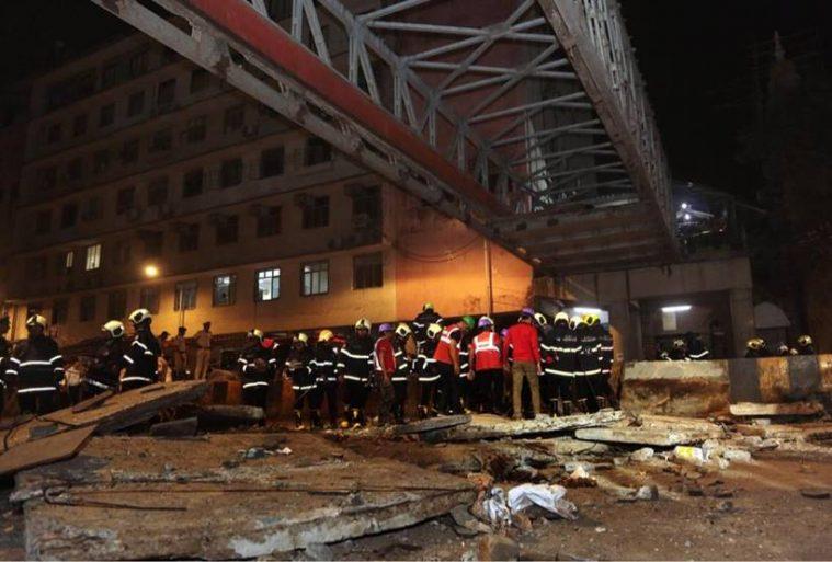 Safety audit negligent : Mumbai footbridge collapse 6 dead