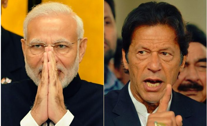 Imran tweets Modi greetings to him  on eve of Pak National Day