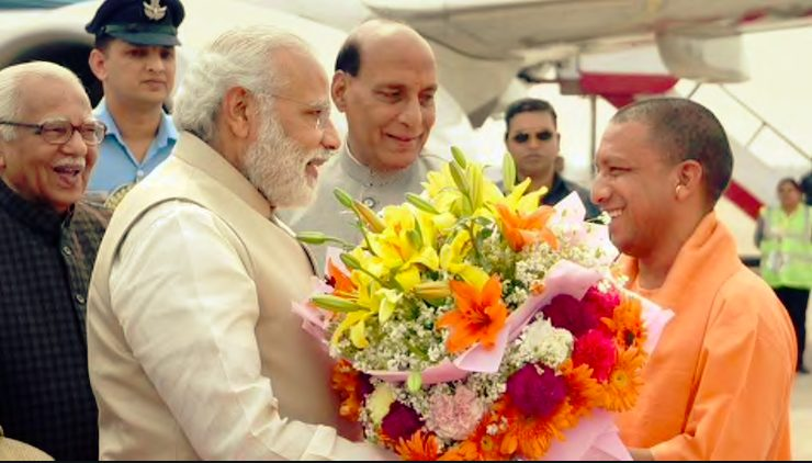 Yogi given BJP allies plump posts just before EC announces Poll dates