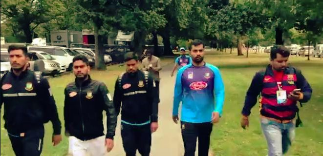 'Escaped mosque attack by minutes' Bangladesh Cricket Players