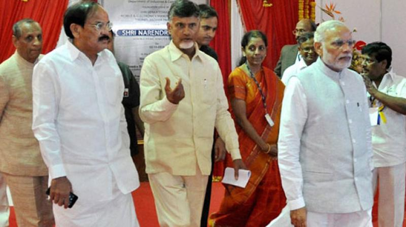 Modi represents negativity of India says  Andhra CM Chandrababu Naidu