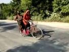 Mission Impossible : 1200 Kms in bicycle taken her ailing father