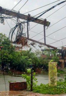 Cyclone Amphan impact in Burdwan