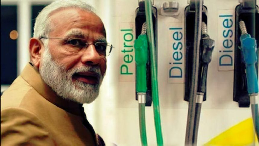 Rs 17,80,056 Crores (237 billion US$) Modi Govt Via tax over petrol , diesel Collected - Splco Shines Accuracy