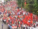 Ten  Trade unions to go on flash strike on Nov 26 against BJP anti labour polices