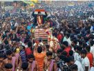 Heroic welcome for cricketer Natarajan in his native place