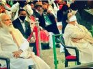 Religious slogans made Mamata goes silent mode while Modi watch helpless