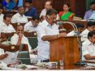 Tamil Nadu budget: Revenue nosedives 18% ; Fiscal deficit goesup Rs 96k Crores and debt skyrocketed  Rs570K Crores