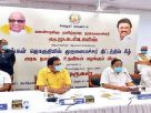 DMK Govt says soon it commence Admk govt  6 years delayed  Palar Thenpennai river linking works