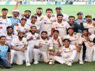 இந்தியா- ஆஸ்திரேலியா டெஸ்ட் போட்டியில் 2-1 என்ற கணக்கில் இந்திய அணி வென்று வரலாற்று சாதனை